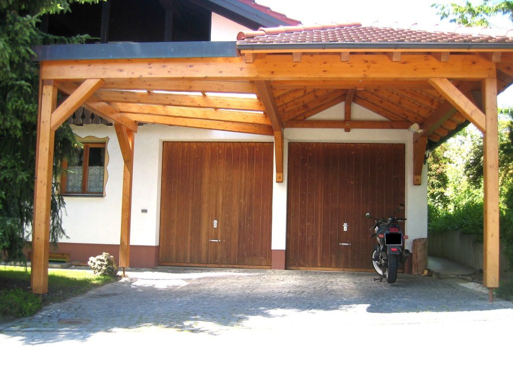 Carport En Garage : Carport garage holzbau straub