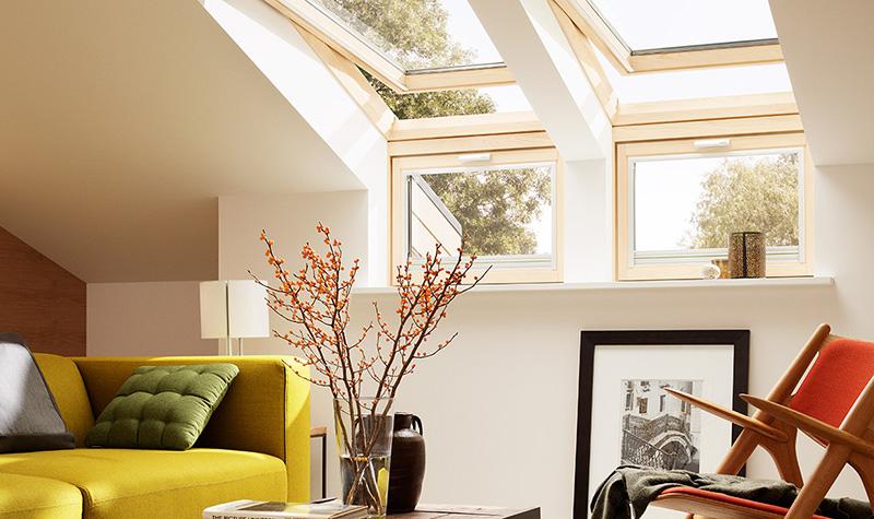 Leistung Dachfenster