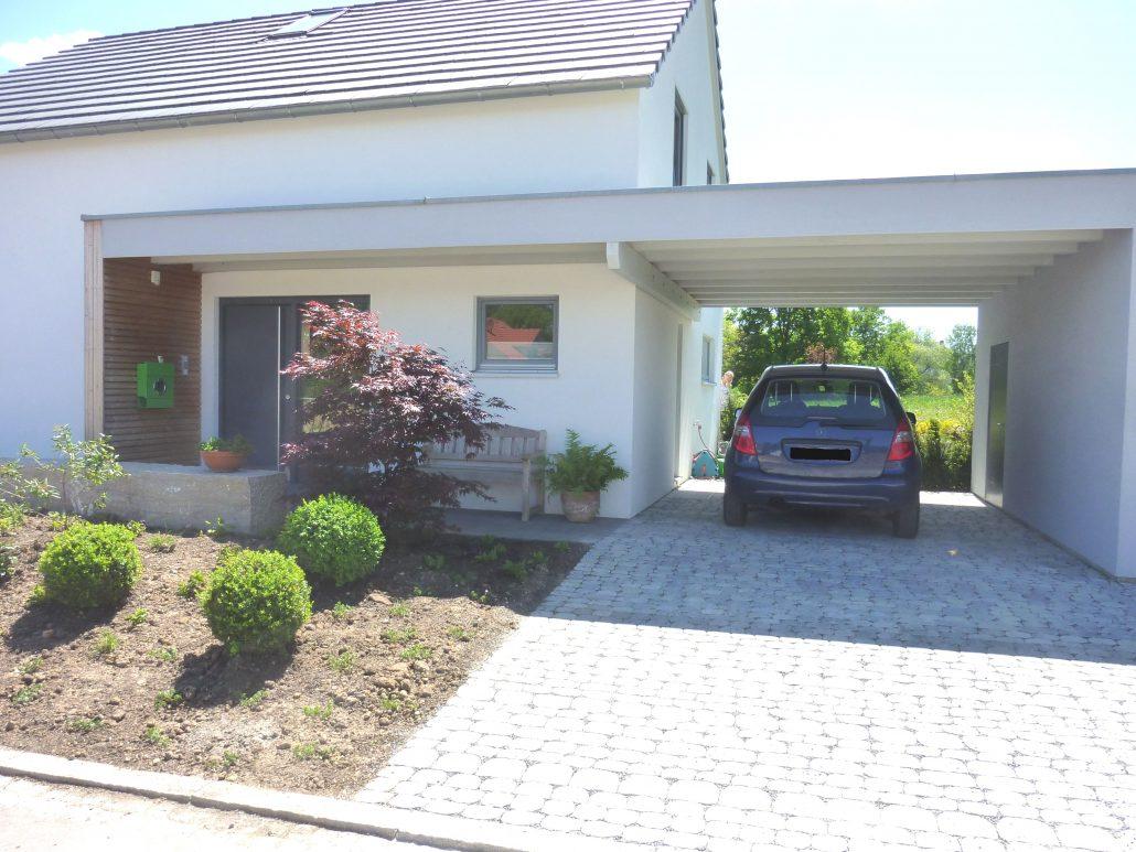 Garage En Carport : Carport garage holzbau straub